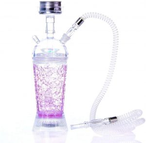 BuBu-Fu Single Hose Glass Cube Hookah