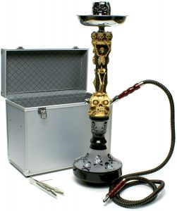 Skull Skeleton Design Hookah