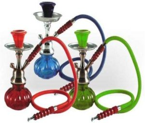 Single Hose Glass Hookah